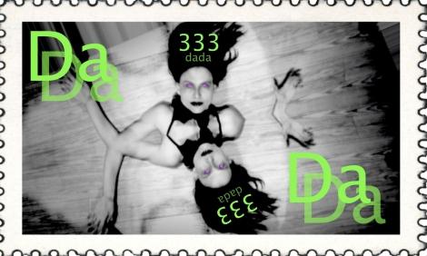 dada stamp